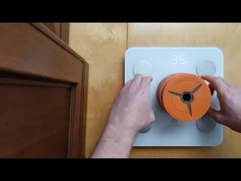 Тест на точность измерений весов Noerden MINIMI