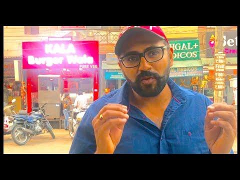 Kala Burger Wala | Street Food | Subhash Nagar - New Delhi