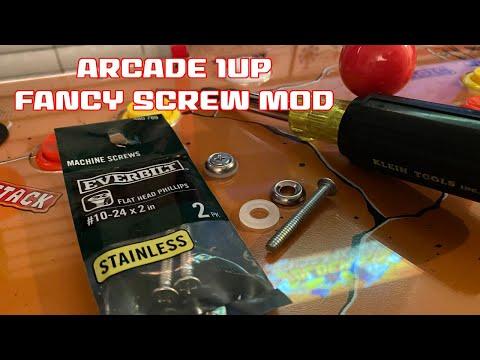 Arcade1up Deck Screw Mod from SonicGT73