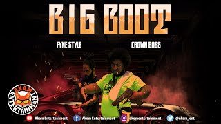 Crown Boss x Fyne Style - Big Boot [Audio Visualizer]