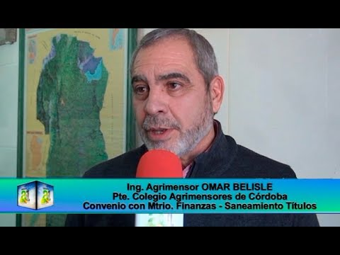 Contacto Agro-Industrial, Ing Agri Omar Belisle