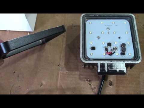 Newest design 12-24vdc 48watt LED Downlights for Off-Grid Solar Systems
