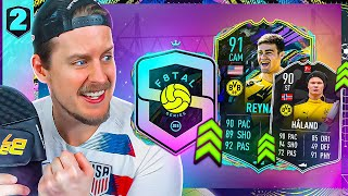 THE HAALAND UPGRADE?! F8TAL FUTURE STARS REYNA #2 FIFA 21 Ultimate Team