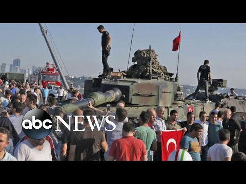 Turkish Military Cause Chaos With Failed Coup Attempt