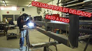 COMO SOLDAR PERFILES DELGADOS thumbnail