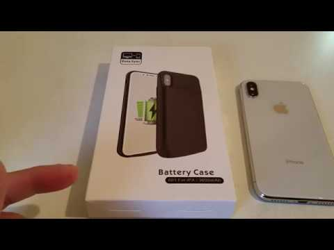iphone 5 battery case vproof iphone x battery 3600mah slim unboxing 14475