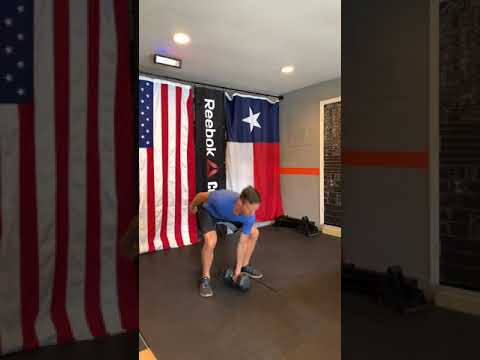 Single DB Clean and Jerk