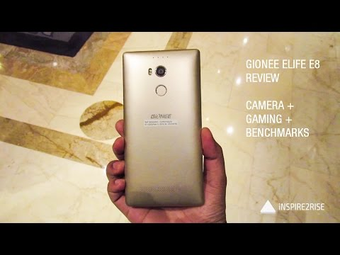 Gionee Elife E8 review full hands on [Camera, Gaming, Benchmarks]