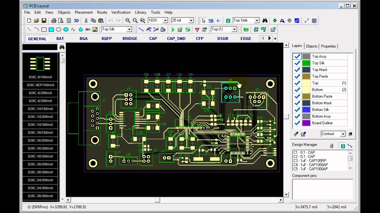 Ordering a PCB designed in PCB Creator - YouTube
