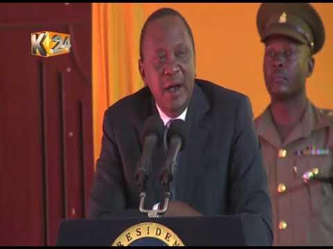 Pres. Kenyatta dismissed calls for political dialogue