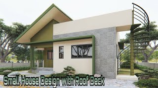 Small House Design  8x7.7 Meters