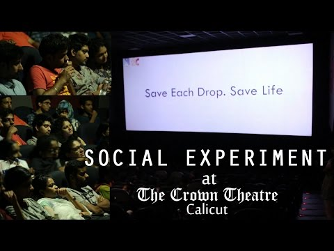 Save Water Campaign at The Crown Theatre, Calicut | Canvas 2K16
