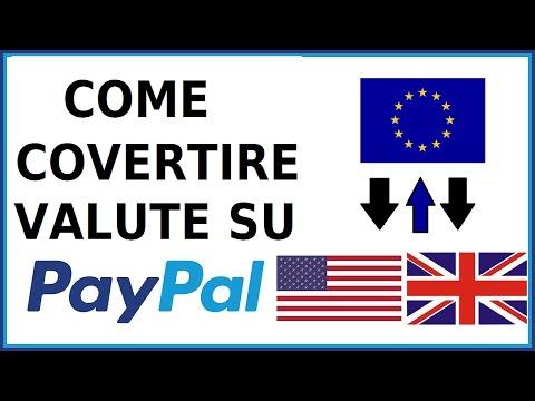 Come Convertire Valuta Su Paypal 2018 Da Pc Cambiare Moneta Con Paypal