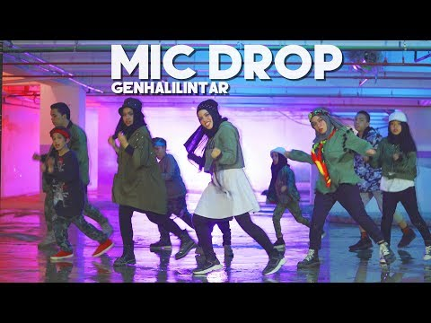BTS(방탄소년단) - MIC Drop - Gen Halilintar(cover) (Steve aoki remix) 11 KIDS + Mom