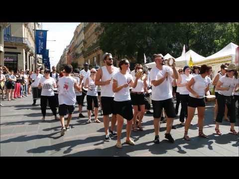 Samba résille - Toulouse en liberté 2015