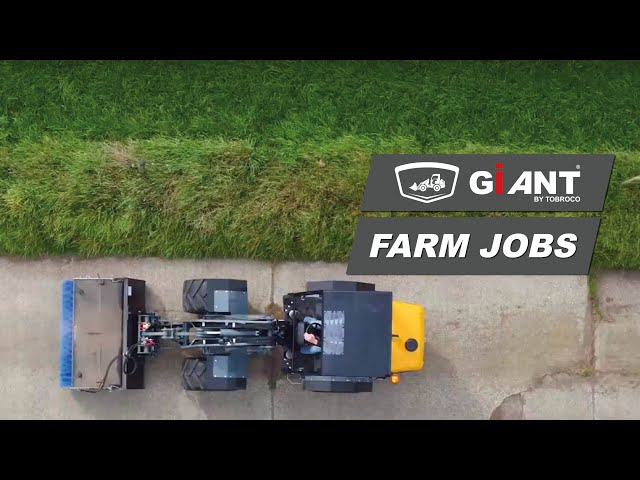 TOBROCO-GIANT can help you speed up your day-to-day farm jobs.