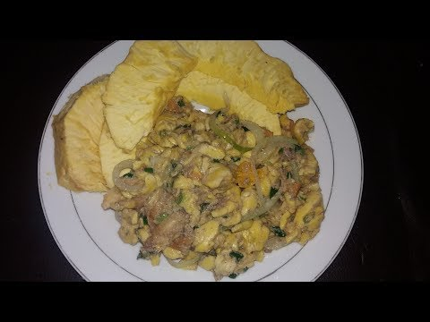 Jamaican Ackee And Saltfish Rundung Style