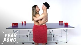 Exes Play Fear Pong (Dalena vs. Mike) Fear Pong Cut