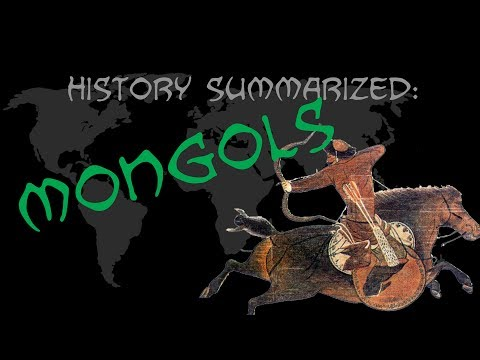 History Summarized: The Mongols