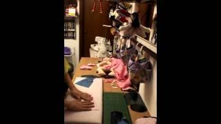 Roupão para boneca Parte 1 por Dee Rosa Artesanatos