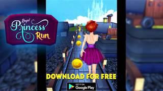 Royal Princess Run - Castle Running Game screenshot 1