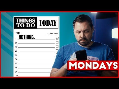 Mondays: Handling Procrastination & Data Management