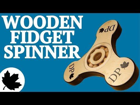 Giant Wooden Fidget Spinner