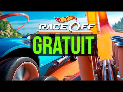 JEUX MOBILE Hotwheels Race off (Jeu Voiture)