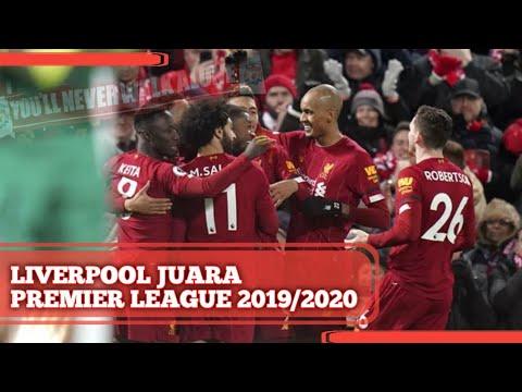 Liverpool Akhirnya Juara Premier League 2019 2020 Review Chelsea 2 1 Man City Youtube