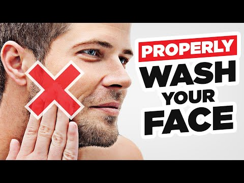 How To PROPERLY Wash Your Face (5 Mistakes Men Make)