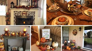Fall Home Tour 2018