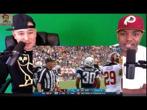 Redskins vs Chargers   Reaction   NFL Week 14 Game Highlights