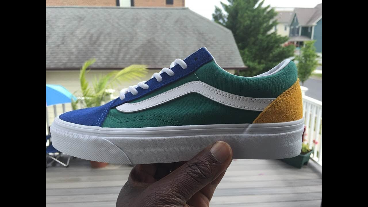 A Closer Look At The Vans Old Skool Yacht Club VN0A38G1R1Q | Buy It Now