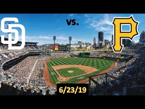 MLB | San Diego Padres vs. Pittsburgh Pirates | The Truth Cam Highlights | 6/23/2019