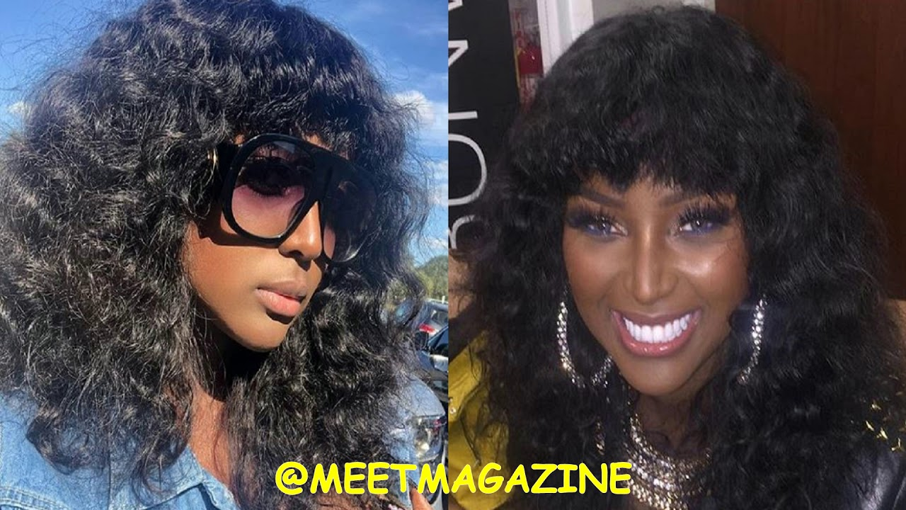 Amara La Negra New Hair Afro Mullet Style New Hairstyle Has