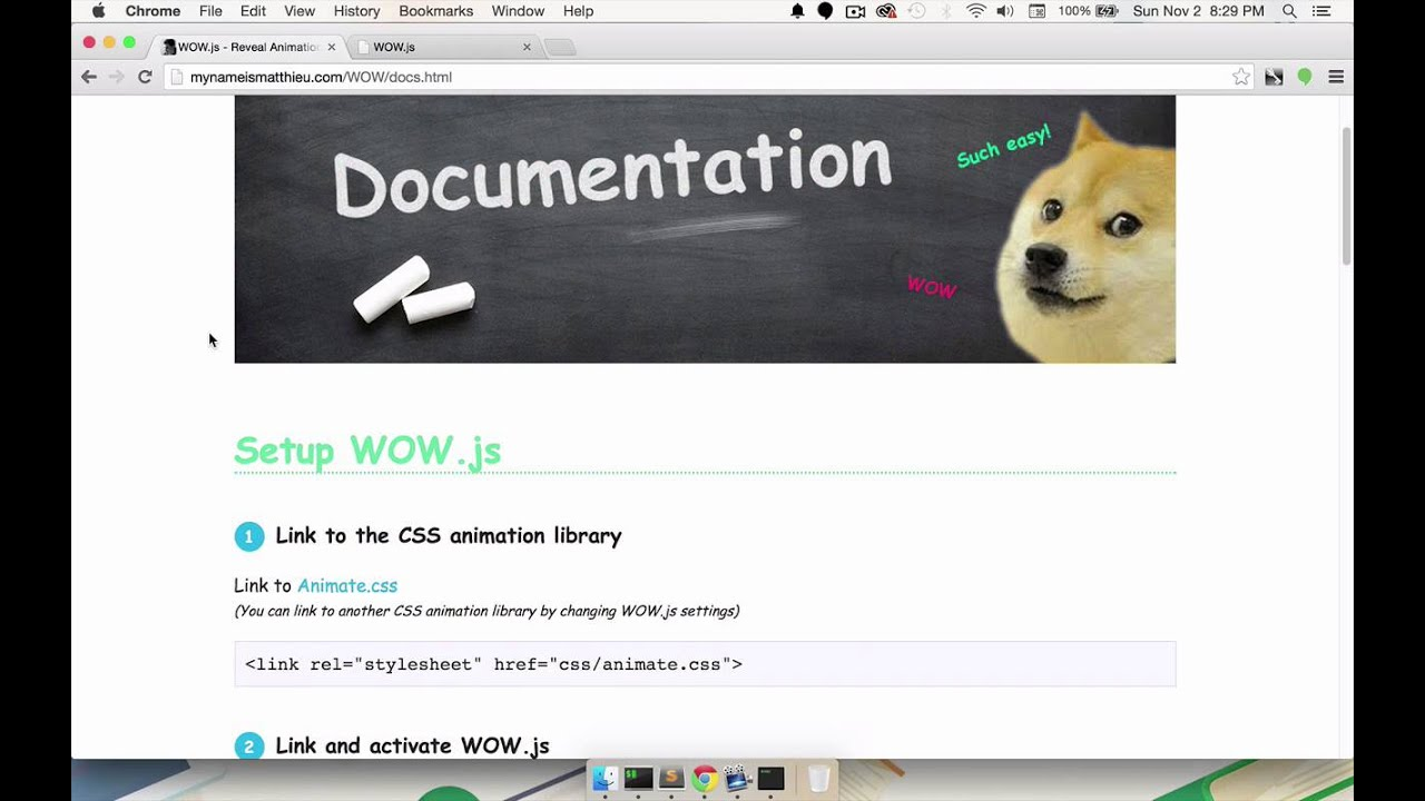 CSS Animation in the Real World 3 1 Animating Based on Scroll Position With  WOW js