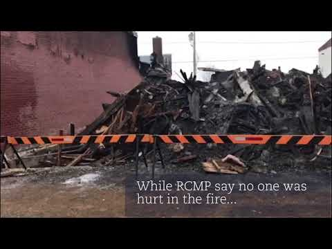 Businesses destroyed by fire in Hudson Bay