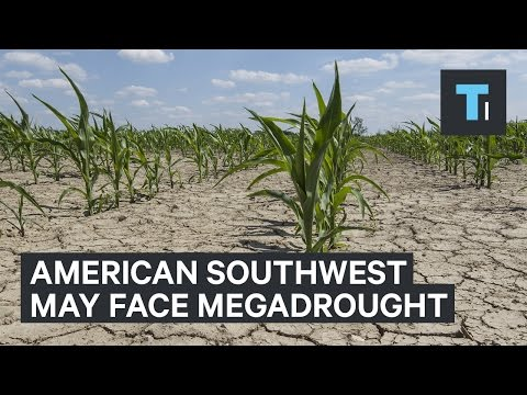 The American Southwest may be facing a megadrought