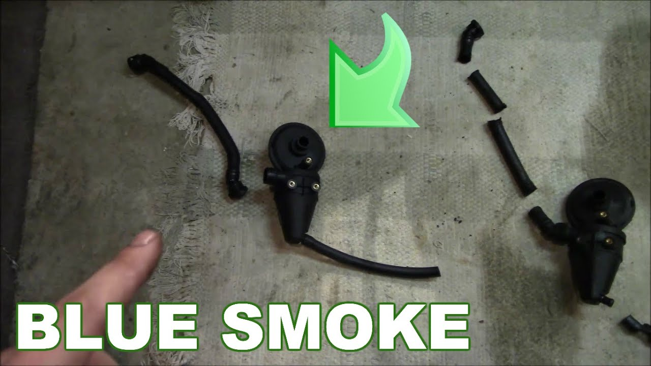 how to replace pcv ccv or air oil separator valve on bmw e36 [ 1280 x 720 Pixel ]