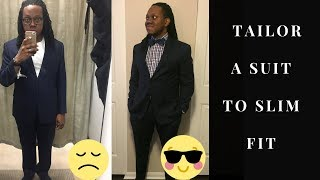 How to Tailor a Suit to Slim Fit