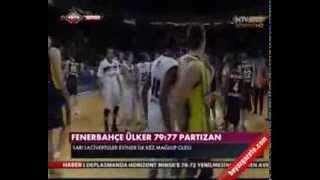Fenerbahçe Ülker Partizan 77 - 79 Basketbol Maç Özeti