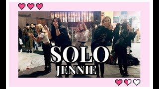 [K-POP IN PUBLIC] RED SPARK | BLACKPINK JENNIE - SOLO cover dance