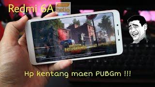 Xiaomi redmi 6a pubg mobile gaming test