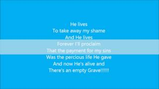 Nicole C. Mullen - My Redeemer Lives lyrics