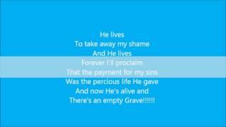 Nicole C. Mullen - My Redeemer Lives lyrics