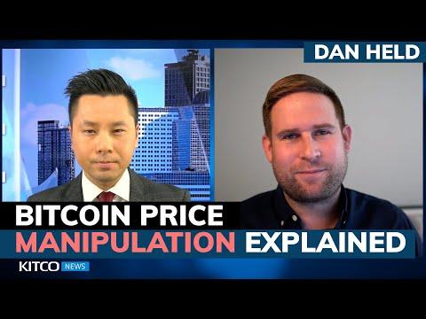 Is Bitcoin price manipulated? How? Kraken's Dan Held breaks down facts vs myths