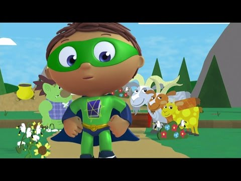 Super Why Full Episodes  - The Three Billy Goats Gruff ✳️ S01E22 (HD)