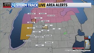 NWS issues Severe Thunderstorm Warning for parts of West Michigan