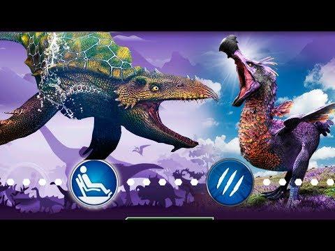 Новый Гибрид и Гиросфера с ДОДО Jurassic World игра