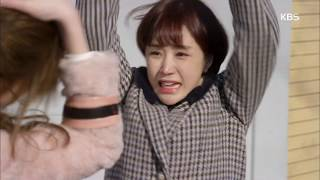"""하나뿐인 내편 - 윤진이 에게 맞는 나혜미! """"우리 오빠한테서 떨어져!!"""".20181230"""
